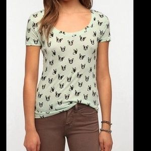 Urban Outfitters Boston Terrier Shirt